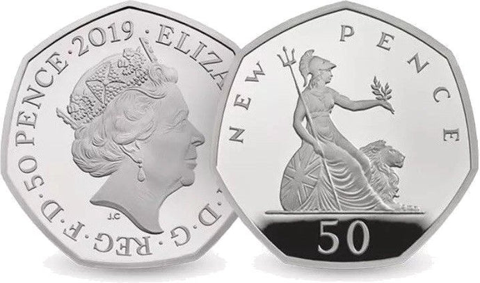 50p Coins Brilliant Uncirculated 2019 Edition