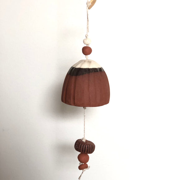 Medium Red + Ivory Belle Chime