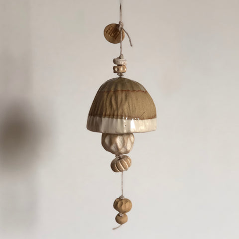 Small Ochre + Ivory Belle Chime