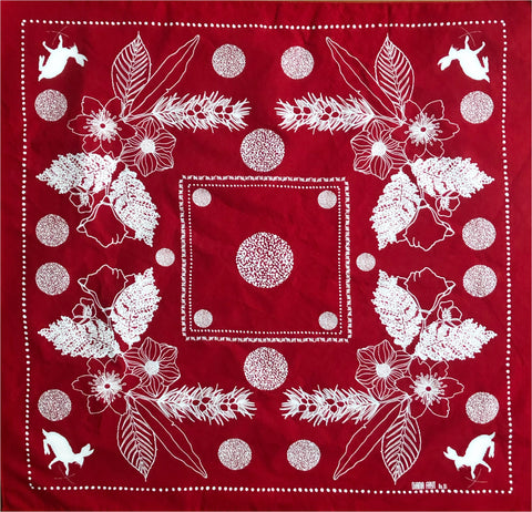 No. 1 Kerchief - Red
