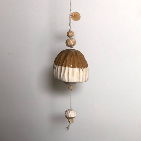 Large Ochre + Ivory Belle Chime