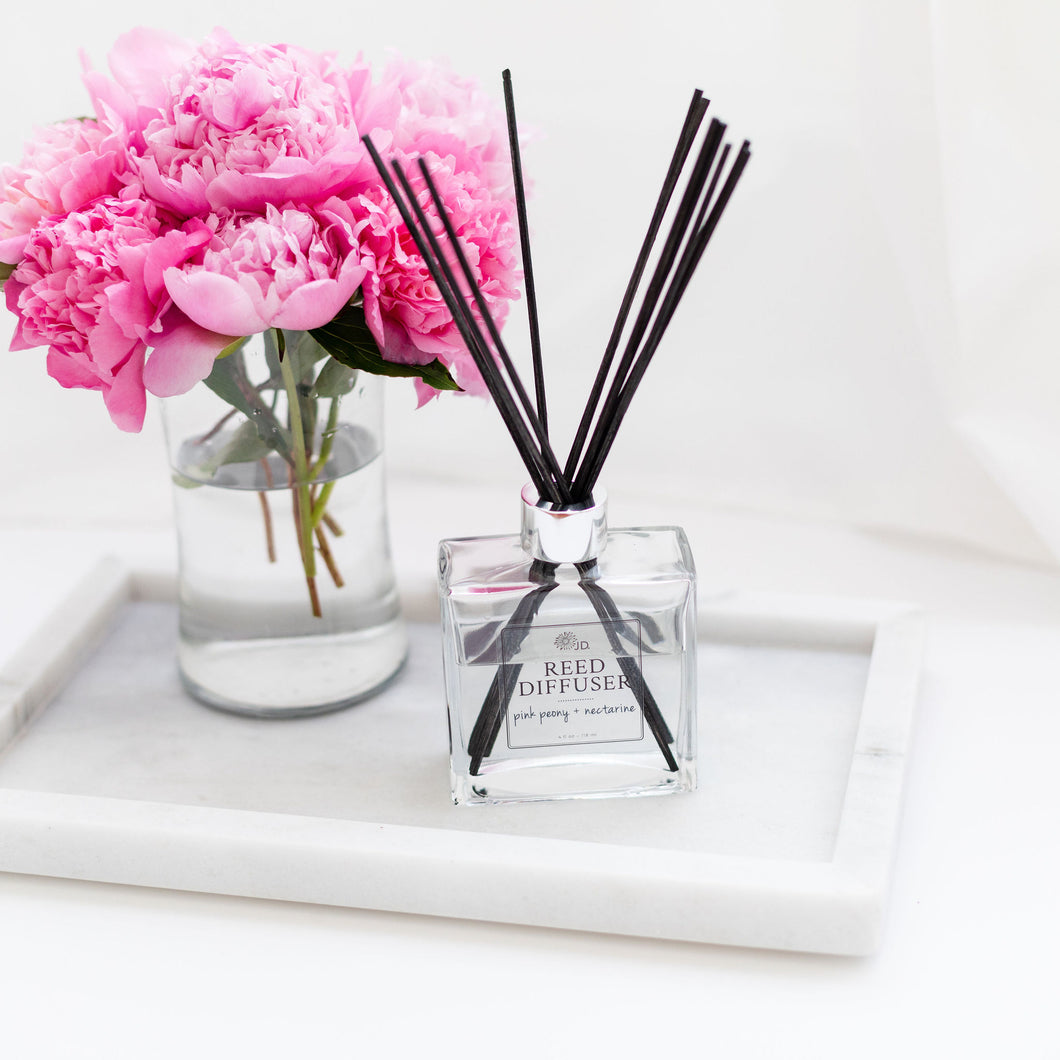 Square Glass Reed Diffuser
