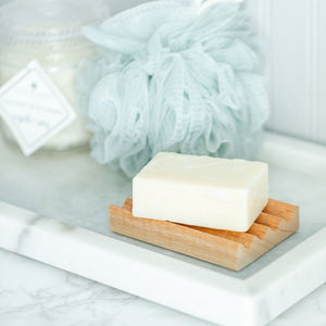 Spanish Cedar Boardwalk Style Soap Dish