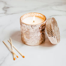 Coconut Wax Candle, 9 oz Ziva Rose Gold