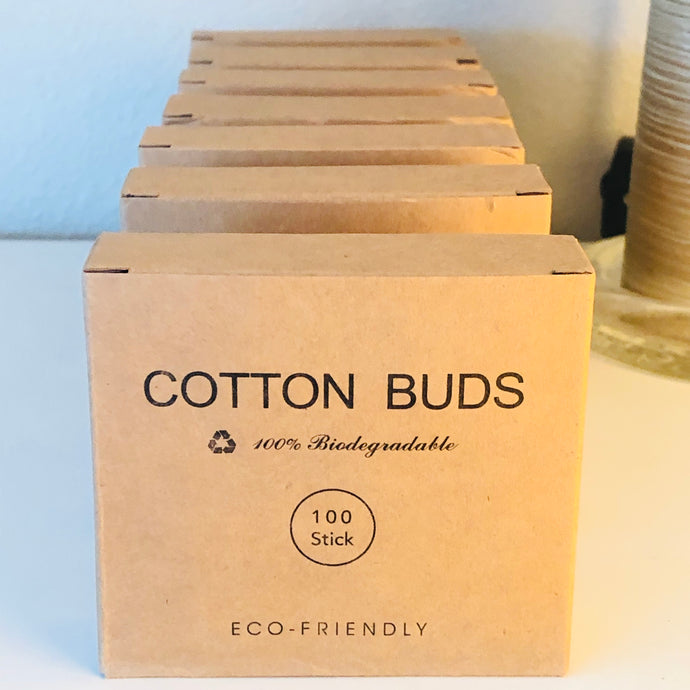 Eco-Friendly Cotton Buds