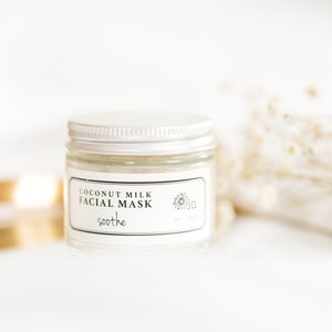 Coconut Milk Facial Mask