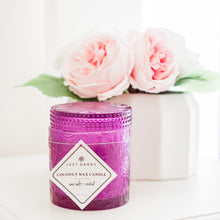 Coconut Wax Candle, 9 oz Ziva Rose Violet