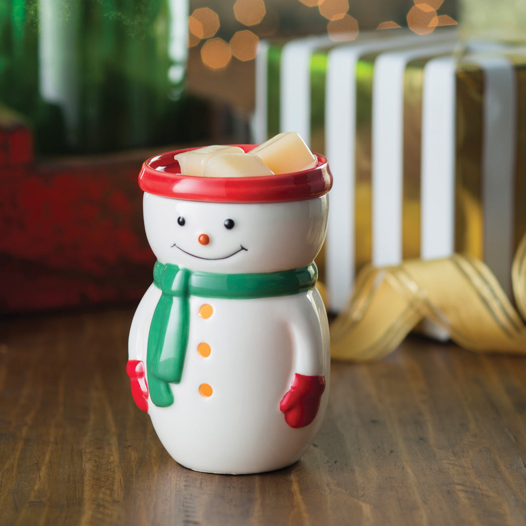 Snowman Midsize Illumination Fragrance Warmer