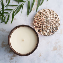 Coconut Wax Candle, 7 oz Amaris Rose Gold