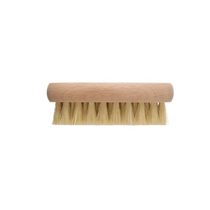 "4-1/4""L Tampico & Beech Wood Vegetable Brush, Natural"