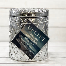 Coconut Wax Candle, 7 oz Amaris Silver