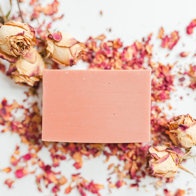 Patchouli & Rose Clay Essential Oil Bar Soap