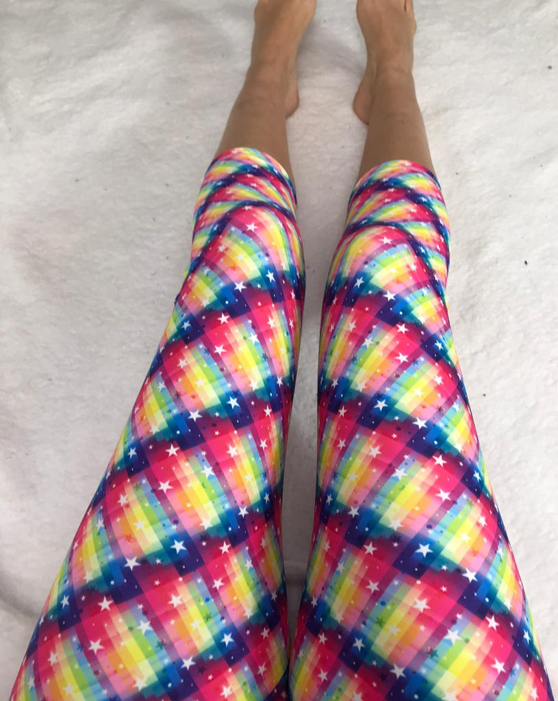 Glitzy Stars ACTIVE Leggings