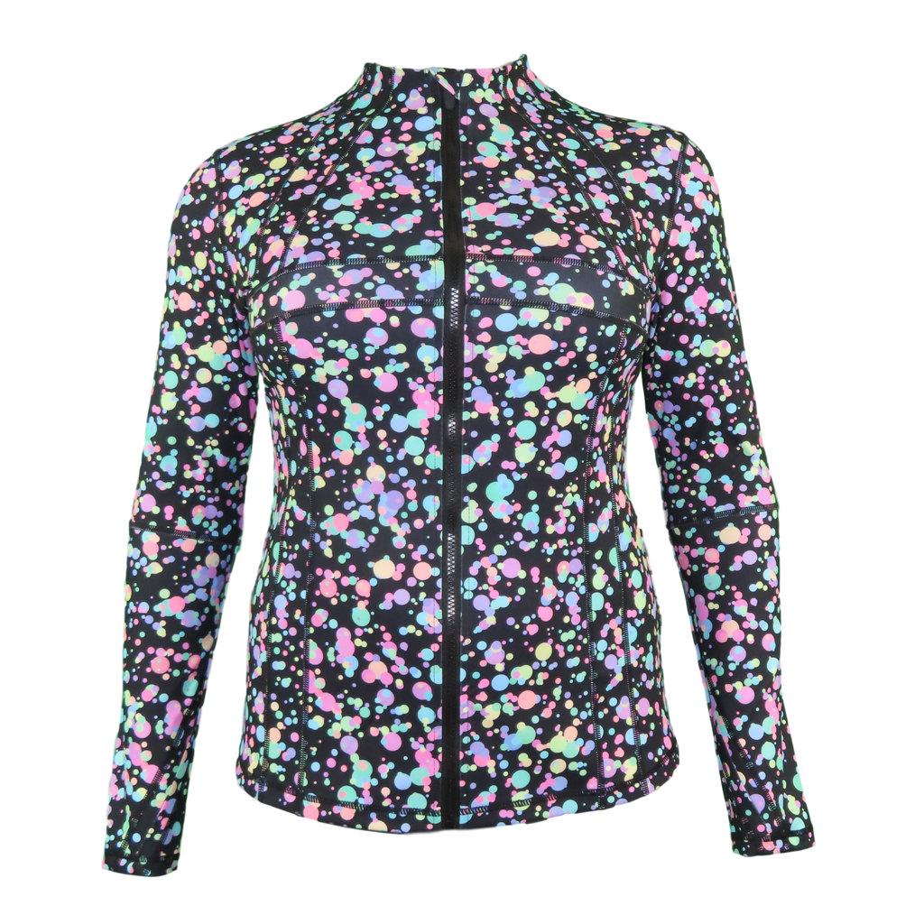 Pastel Splat Zipped Jacket