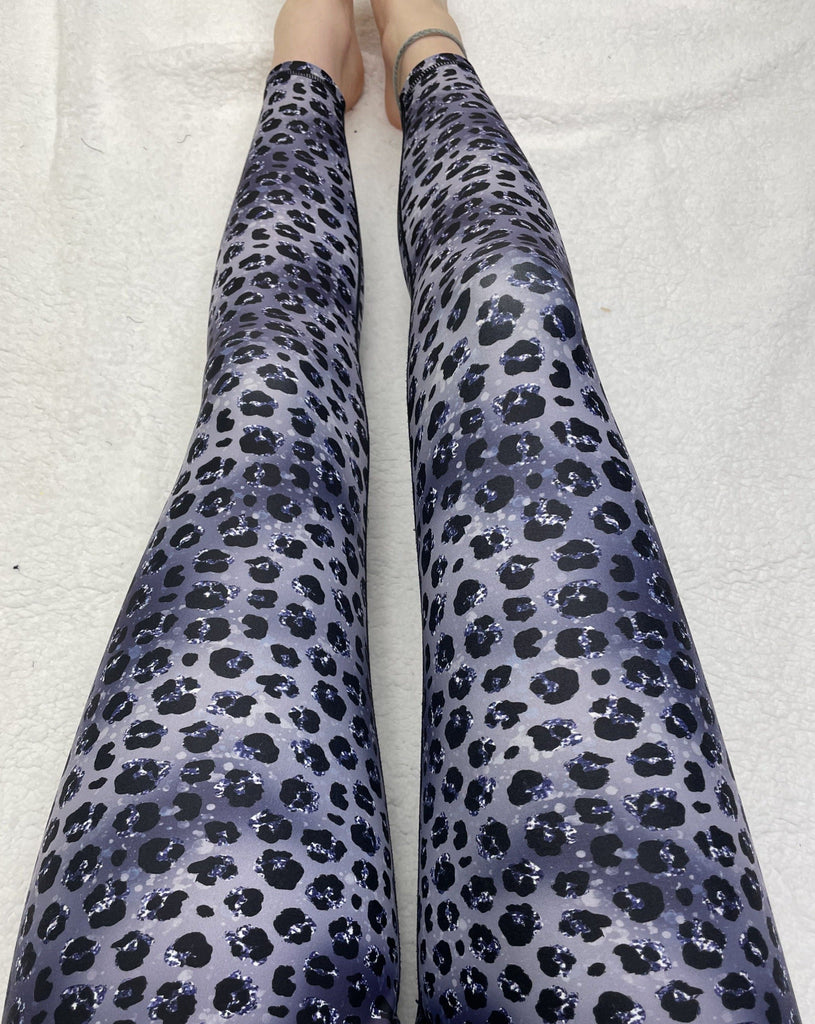 Silver Leopard ACTIVE Leggings
