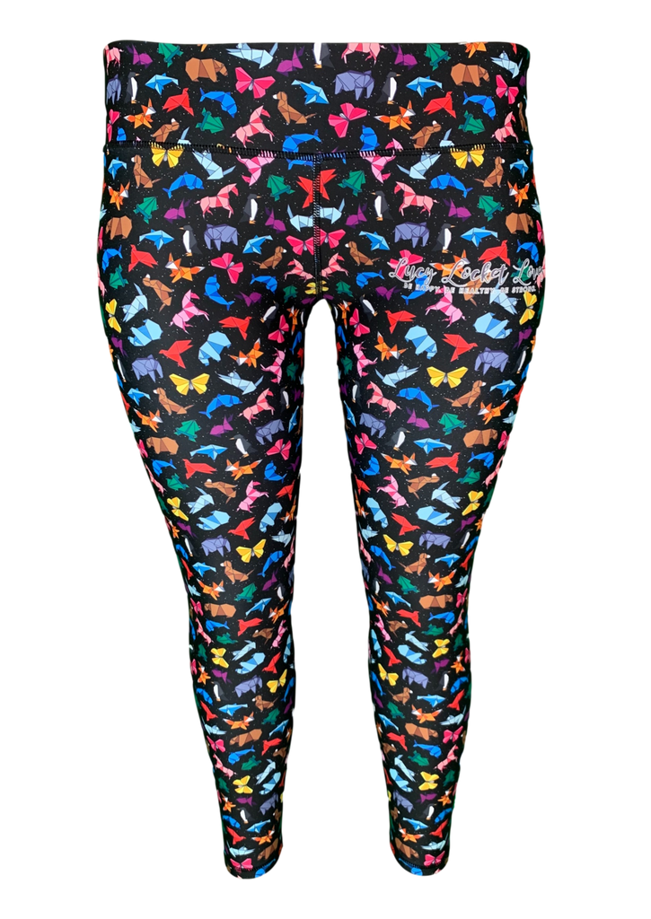 Origami Animal ACTIVE Leggings