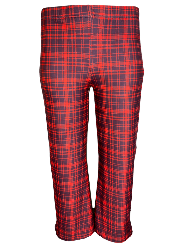 Red Plaid Loungewear