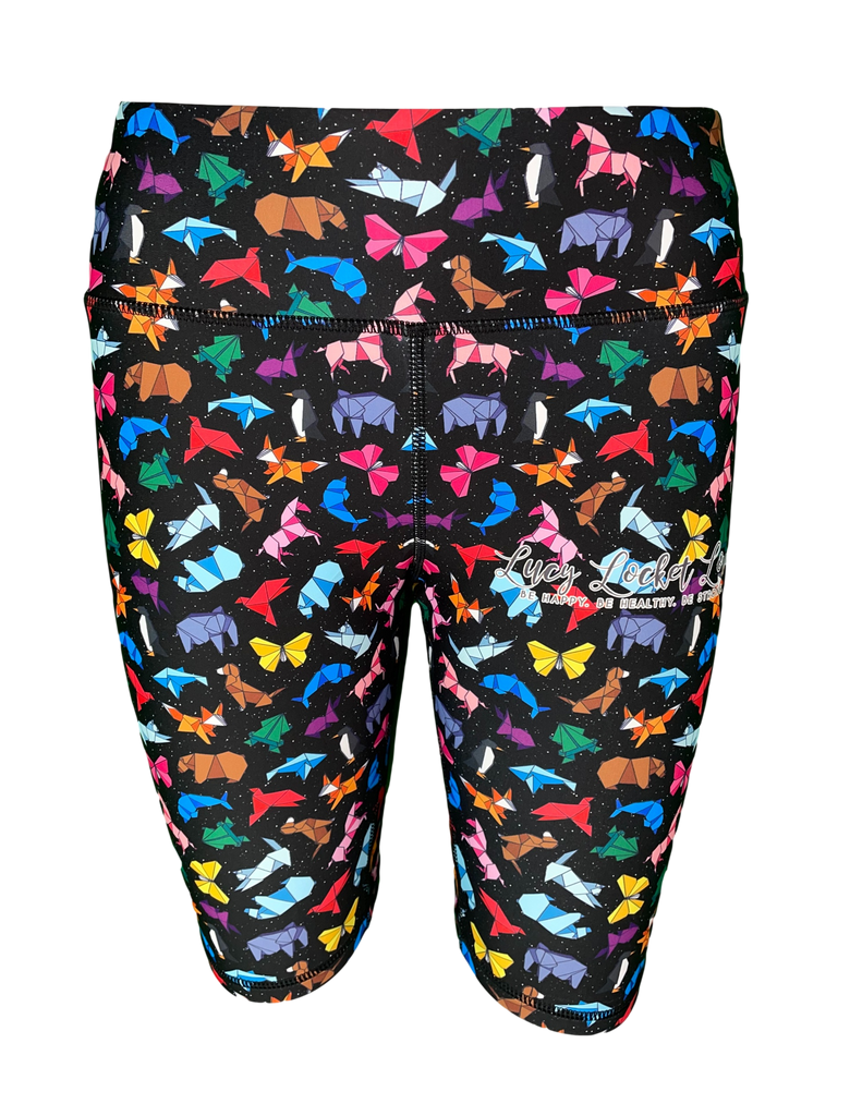 Origami Animal ACTIVE Shorts