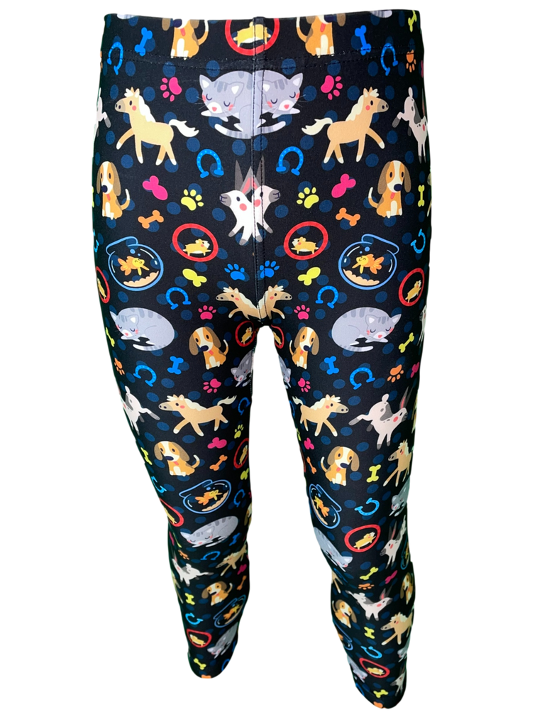 Your Best Friends LITTLE LOCKET Leggings