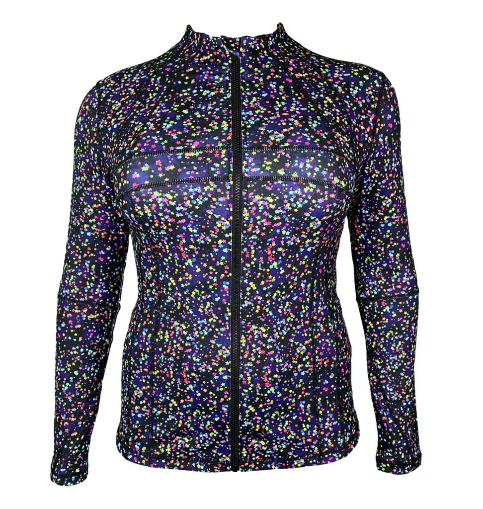 Speckled Star Zipped Jacket