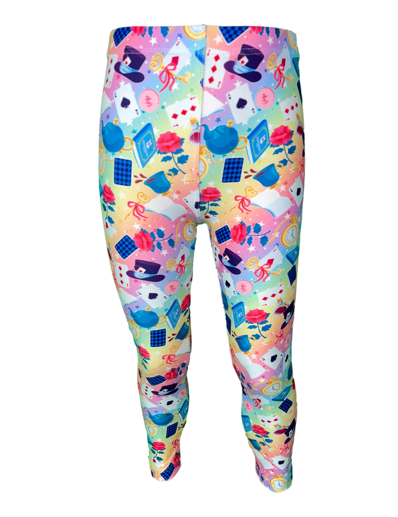 Wonderland LITTLE LOCKET Leggings