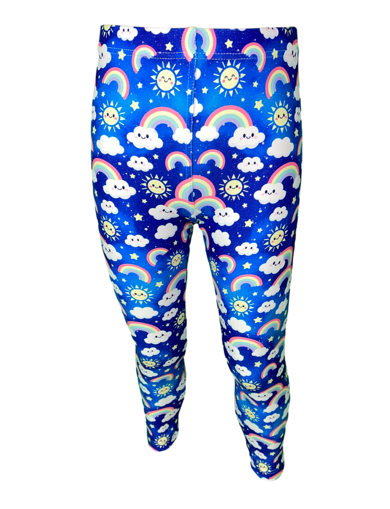 Over The Clouds LITTLE LOCKET Leggings
