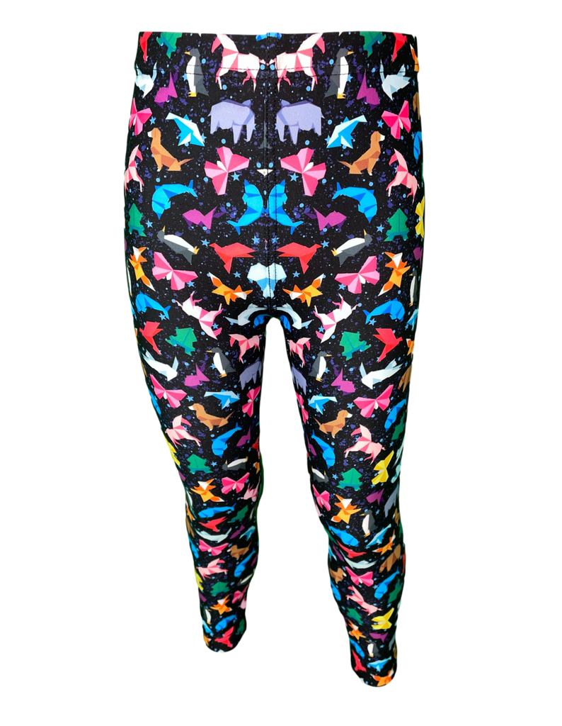 Space Animals LITTLE LOCKET Leggings