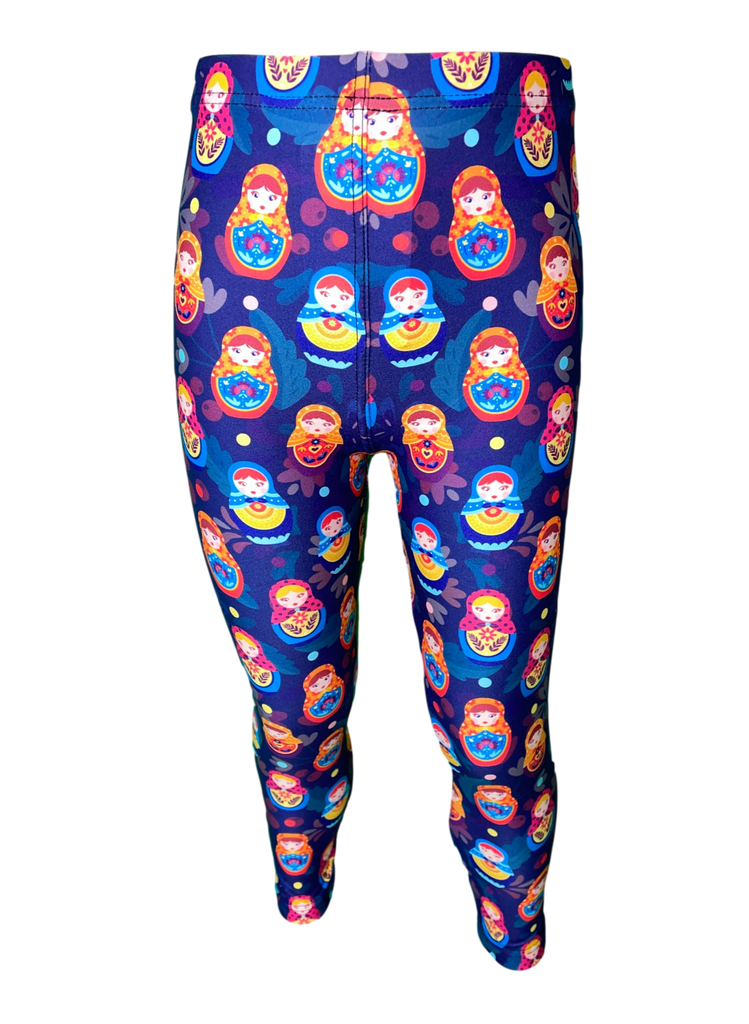 Matryoshka Dolls LITTLE LOCKET Leggings