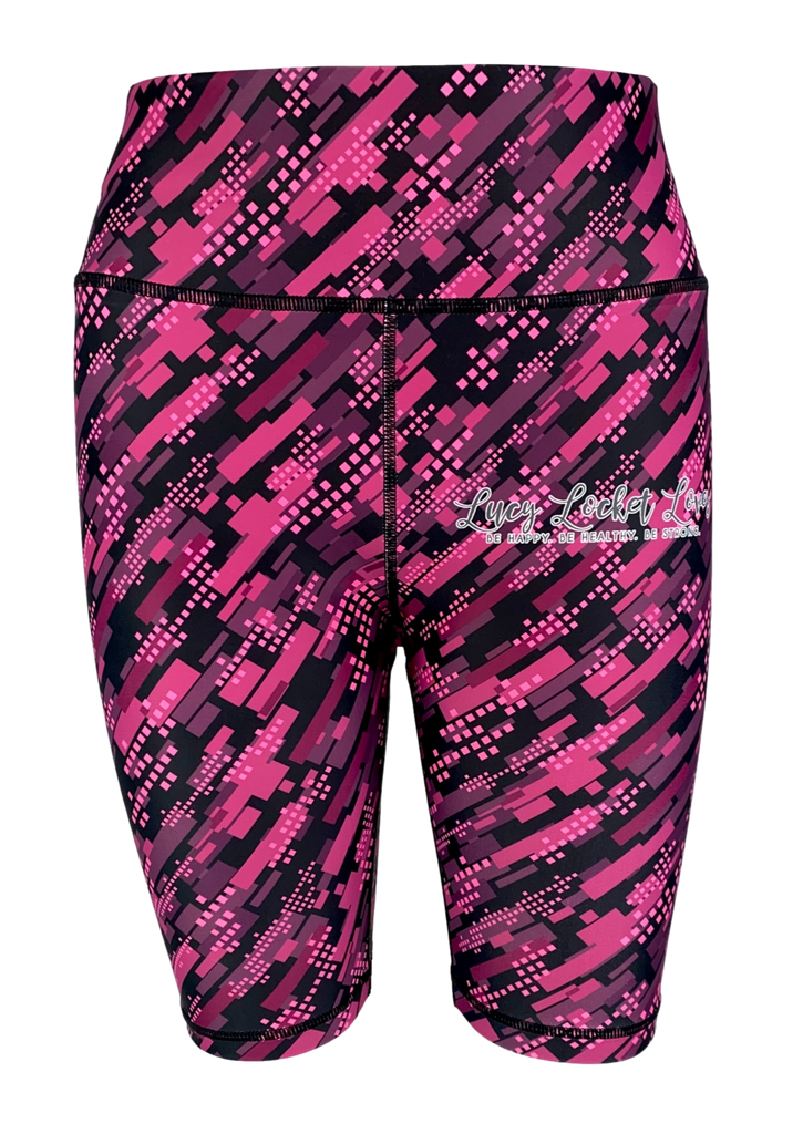 Dianne x LLL - Purple Tartan LITTLE LOCKET Leggings
