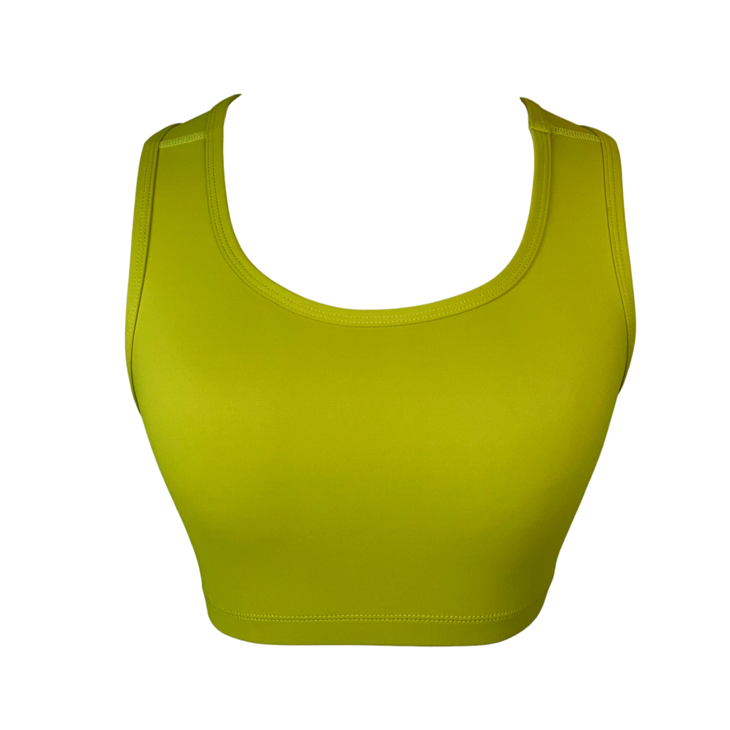 Golden Lime Crop Top