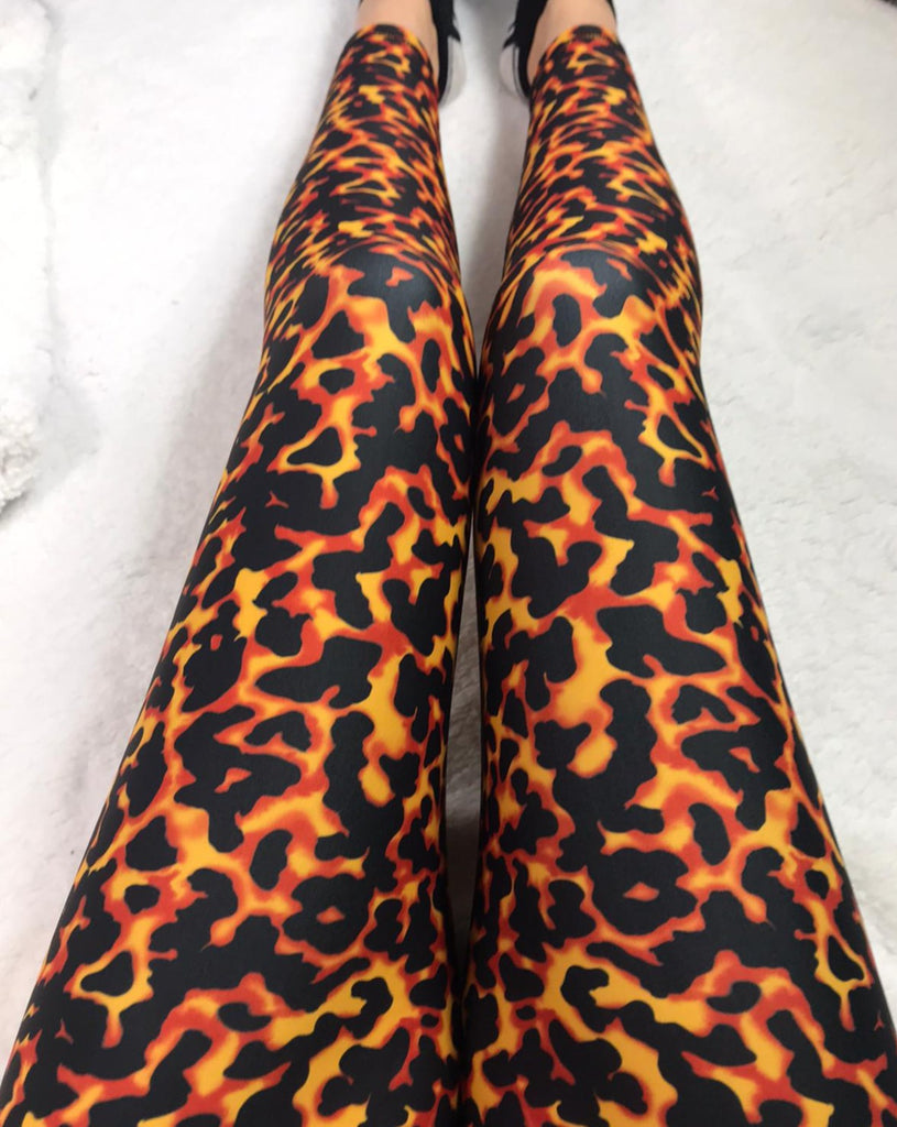 Tortoiseshell ACTIVE Leggings