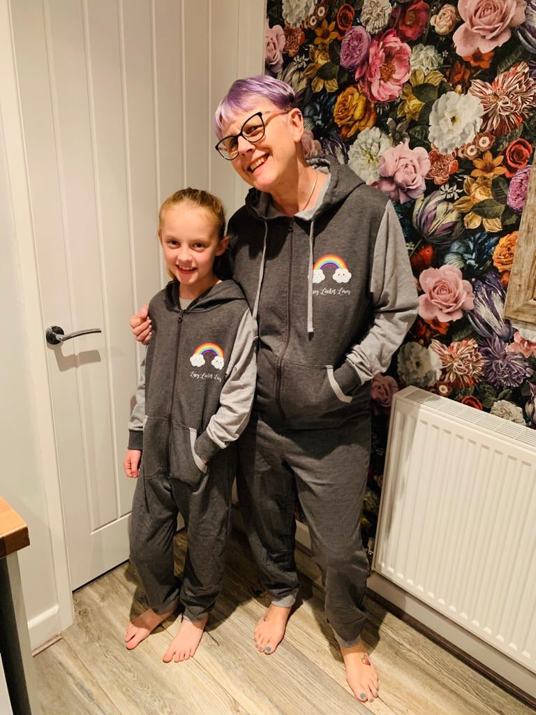 LLL Rainbow Adult Onesie