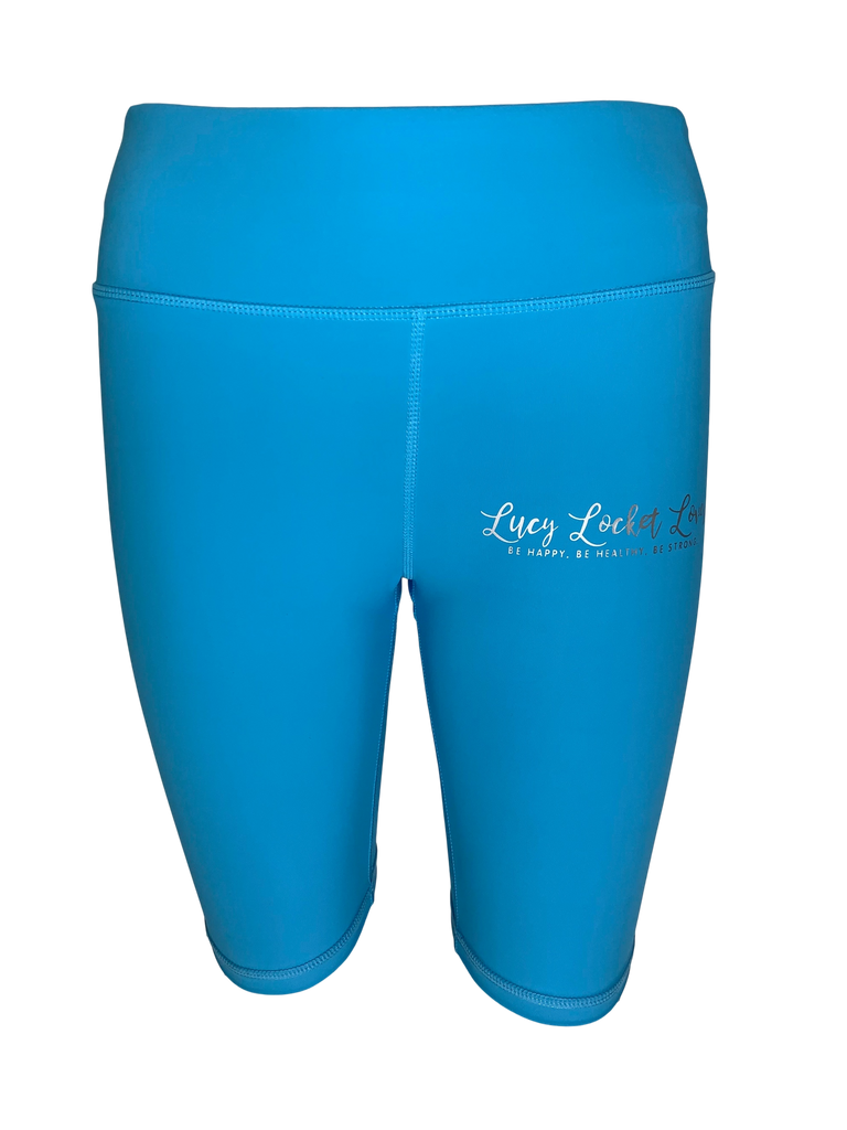 Ocean Blue ACTIVE Shorts
