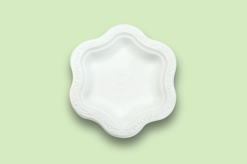 Sugarfiber™ 7 inch Acanthus Floral Plates