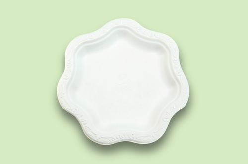 Sugarfiber™ 9 inch Acanthus Floral Plates