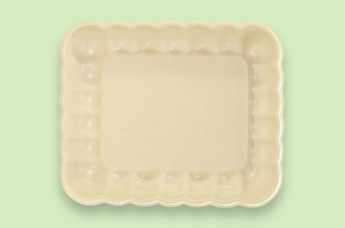 Sugarfiber™ 9x7  inch Cloud Tray with PLA Coating