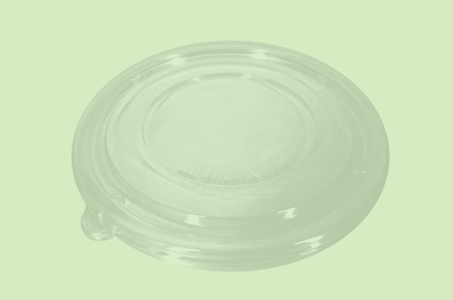 PET Clear Lid for Sugarfiber™ 12oz Round Bowls