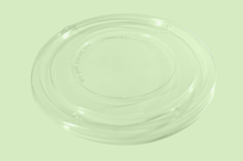Load image into Gallery viewer, PET Clear Flat Lid for Sugarfiber™ 24-48oz Round Bowls