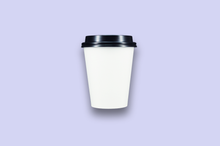 Load image into Gallery viewer, 12oz White Single-Wall Paper Cups