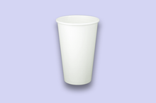 Load image into Gallery viewer, 20oz White Single-Wall Paper Cups