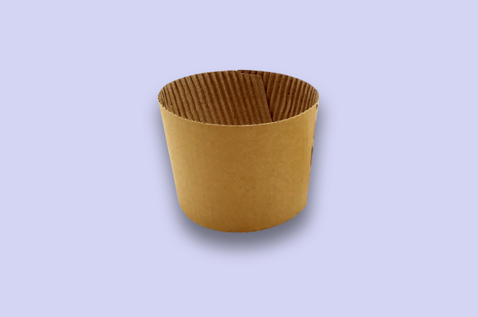 Kraft Cup Sleeves for Hot Cups