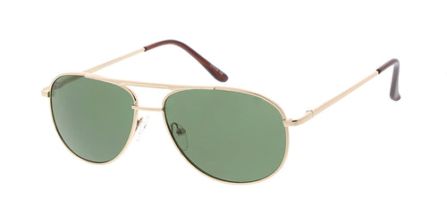 2857MH Unisex Metal Medium Rectangular Aviator