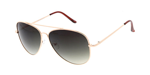 3045MH Unisex Large Metal Aviator Spring Temples