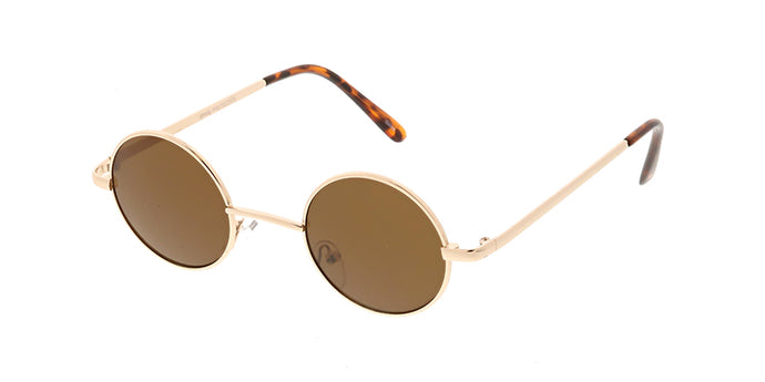 3104 Unisex Metal Classic Small Round Lennon