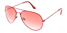 3418COL Women's Metal Aviator Color Frame w/ Gradient Color Lens