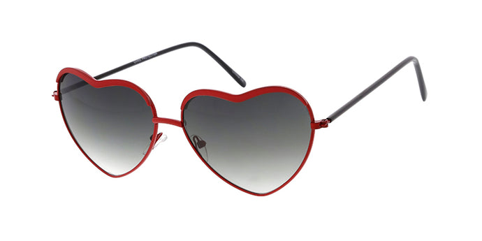 3487HRT Women's Metal Medium Heart Shaped Frame