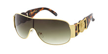 3527VE Vivant Eyewear Metal Large Shield