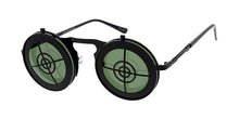 3540 Unisex Metal Medium Steampunk Crosshairs Flip Up Novelty Frame