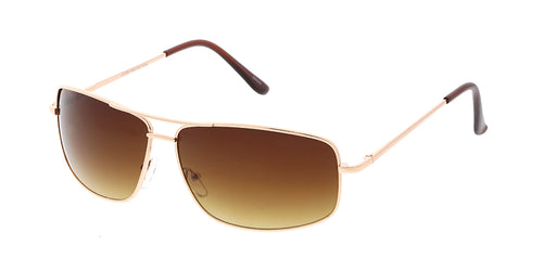 3609MH Unisex Metal Medium Square Aviator Frame