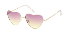 3613HRT Women's Metal Small Wire Heart Frame w/ Two Tone Lens